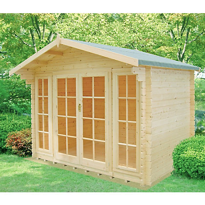 Image for Homewood Epping Wooden Log Cabin - 10ft 10in x 8ft 10in from StoreName