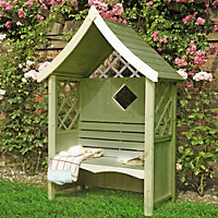 Homewood Rose Wooden Arbour