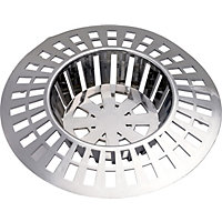 Basin Strainer Chrome Finish