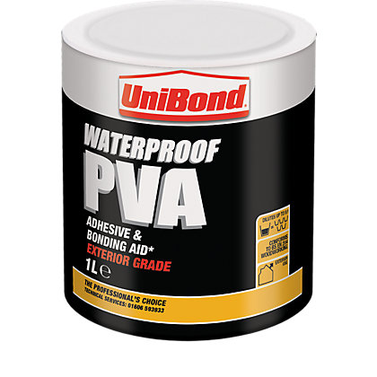 Image for UniBond Waterproof PVA - 1L from StoreName