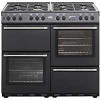 Belling Country Classic 100G Gas Range Cooker - Anthracite.