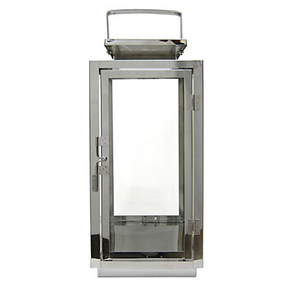 Image for Stainless Steel Lantern - Large from StoreName