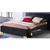 Hygena Marcell King Size Bed - Frame Only