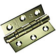 Ball Bearing Hinge PVD - 76mm - Pack of 2