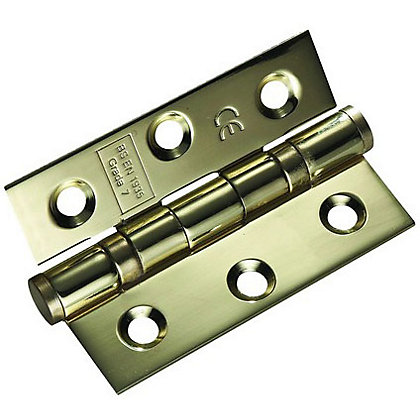 Image for Ball Bearing Hinge PVD - 76mm - Pack of 2 from StoreName