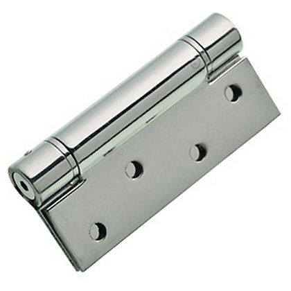 Image for Adjust Self Closing Hinge Polished stainless steel - 102mm - Pack of 2 from StoreName