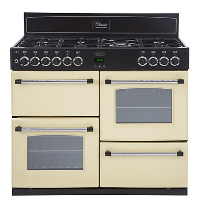 Image for Belling Classic 100DFT Dual Fuel Range Cooker - Cream. from StoreName