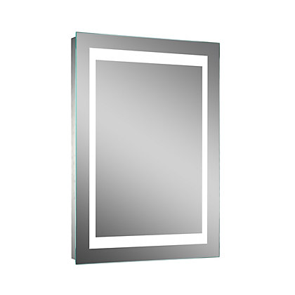 Image for Lumino Coro Illuminated Mirror - Mains Powered - 50 x 70cm from StoreName