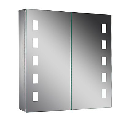 Image for Lumino Satis Illuminated Cabinet -Mains Powered - 60 x 63cm from StoreName