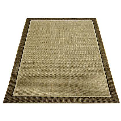 Image for Decora Border Natural Rug - 160 x 230cm from StoreName