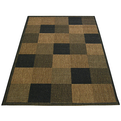 Image for Essence Block Chocolate Rug - 160 x 230cm from StoreName