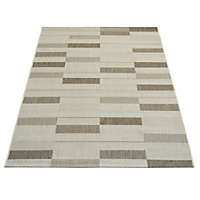 County Parque Taupe Rug - 80 x 150cm