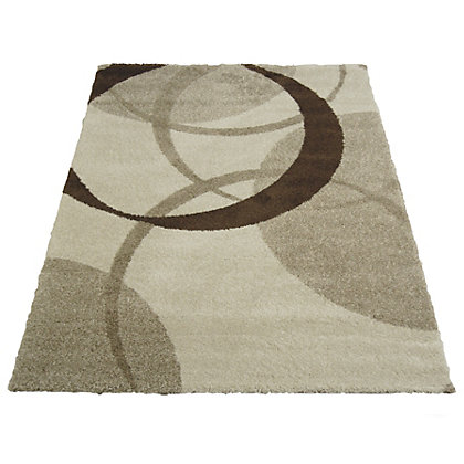 Image for Wellness Circles Natural Rug - 80 x 150cm from StoreName