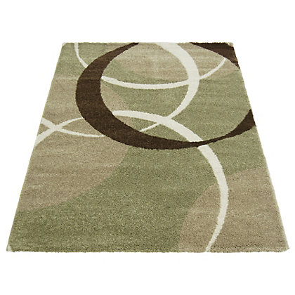 Image for Wellness Circles Green Rug - 160 x 230cm from StoreName