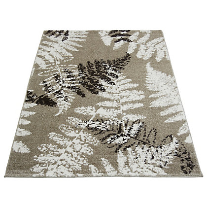 Image for Monte Carlo Fern Taupe Rug - 80 x 150cm from StoreName