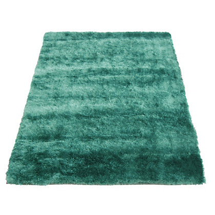 Image for Twinkle Shaggy Teal Rug - 60 x 120cm from StoreName