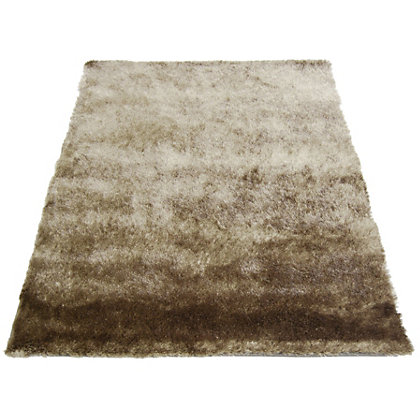 Image for Twinkle Shaggy Latte Rug - 60 x 120cm from StoreName