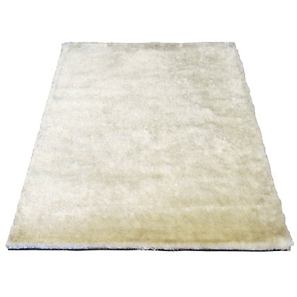Image for Twinkle Shaggy Cream Rug - 80 x 150cm from StoreName