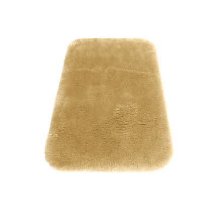 Image for Faux Fur Honey Oblong Rug from StoreName