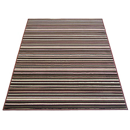 Image for Fine Stripe Plum Rug - 80 x 150cm from StoreName