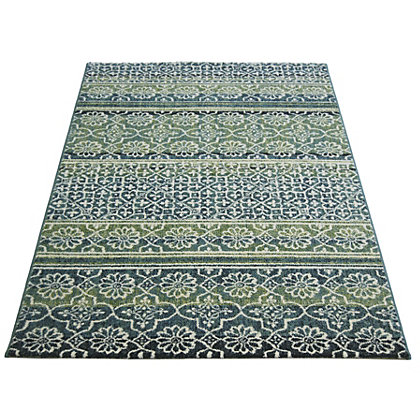 Image for Eternity Moroccan Green Rug - 80 x 150cm from StoreName