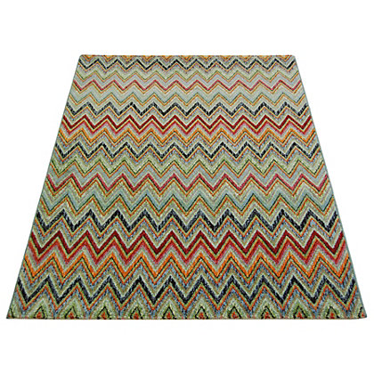 Image for Eternity Zig Zag Multicoloured - 120 x 170cm from StoreName