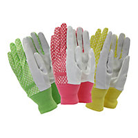 Town & Country Ladies Gardening Gloves - Triple Value Pack