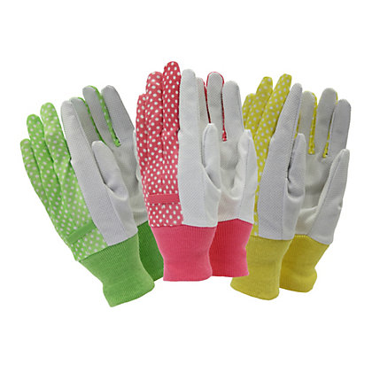 Image for Town & Country Ladies Gardening Gloves - Triple Value Pack from StoreName