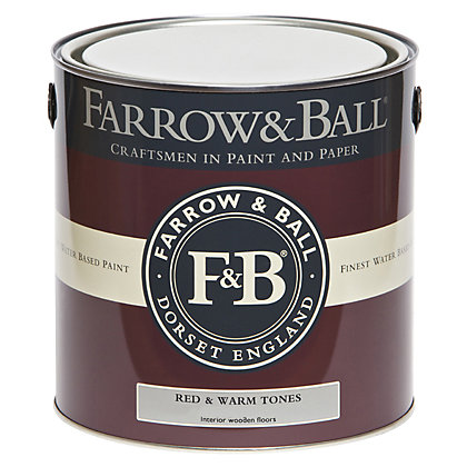 Image for Farrow and Ball Interior Wood Primer Undercoat - Red & Warm Tones - 2.5L from StoreName