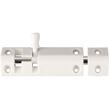 Image for Straight Bolt - White - 102mm from StoreName