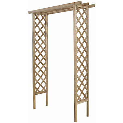 Image for Forest Trellis Garden Arch from StoreName