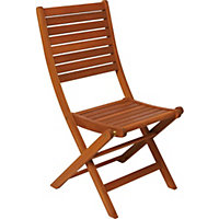 Peru Wooden Folding Chair (Pack of 2)