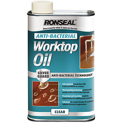 Image for Ronseal Anti-Bacterial Work Top Oil 1L from StoreName