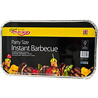 Disposable Party Charcoal BBQ