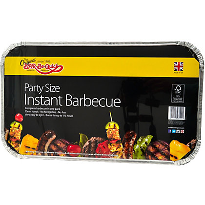 Image for Bar-Be-Quick Disposable Party Charcoal BBQ from StoreName