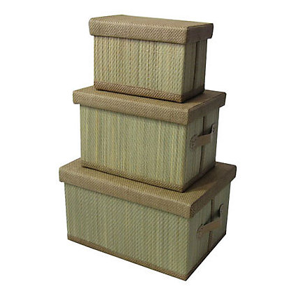 Image for Matting Baskets - Natural - 3 Pack from StoreName