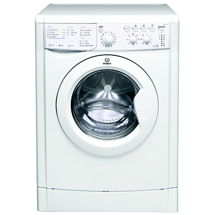 Image for Indesit Ecotime IWDC 6125 Washer Dryer - White from StoreName