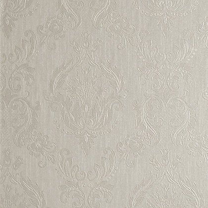 Image for Superfresco Colours Damask Wallpaper - Cream Shimmer from StoreName