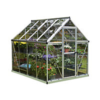 Palram Harmony  Silver Greenhouse - 6x8ft
