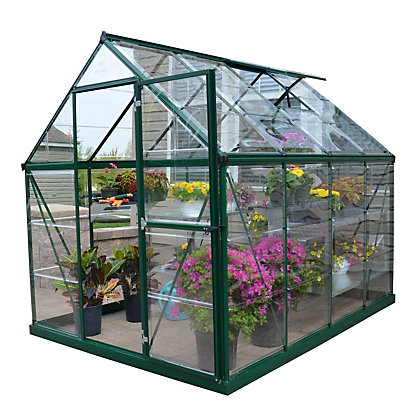 Image for Palram Harmony Green Greenhouse - 6x8ft from StoreName