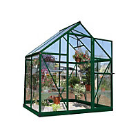 Palram Harmony Green Greenhouse - 6x4ft