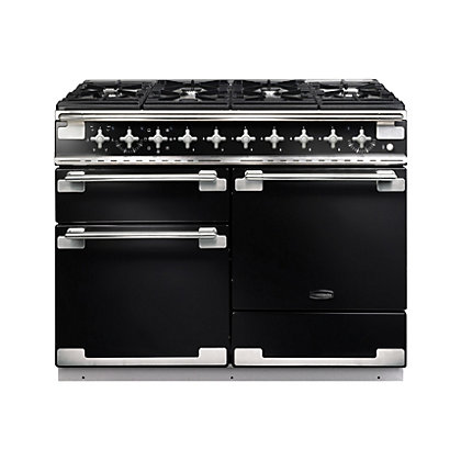 Image for Rangemaster 94200 Elise 110cm Dual Fuel Range Cooker - Gloss Black from StoreName