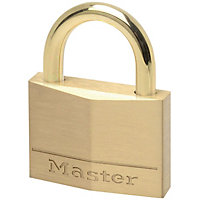 Master Lock Padlock - Brass - 45mm