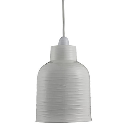 Image for Textured Ceramic Easy Fit Pendant from StoreName
