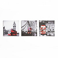 City Canvas  - Set of 3