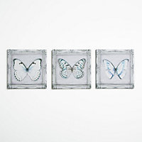 Butterflies Canvas  - Set of 3