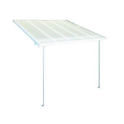 Image for Palram Feria Garden Patio Cover in White - 3X3.05M from StoreName