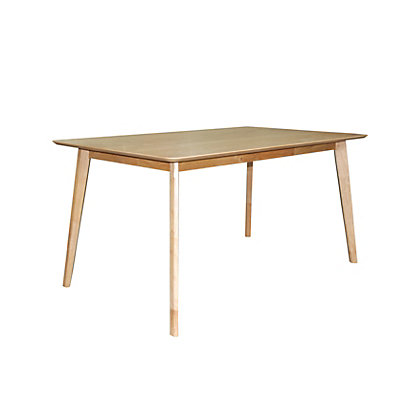 Ferndale rectangular oak dining table reserve and collect for Dining room tables homebase