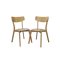 Ferndale Pair of Contemporary Chairs - Reserve and Collect.