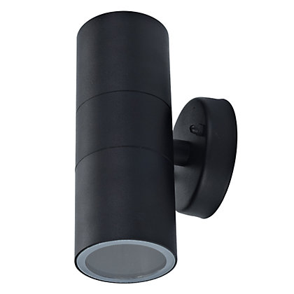 Image for Radius Black Double Wall Light from StoreName